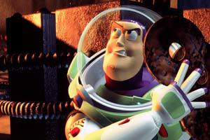 Buzz Lightyear in Toy Story 2