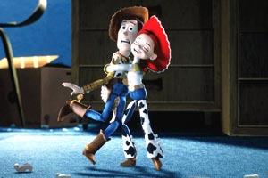 Woody e Jesse in Toy Story 2