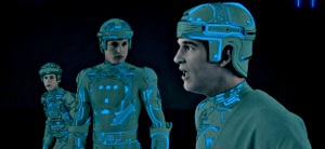 Dan Shor, Bruce Boxleitner e Jeff Bridges in Tron