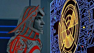 David Warner e Pac-Man in Tron