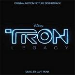 La copertina del CD di Tron: Legacy