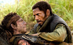 Ben Stiller e Robert Downey Jr in Tropic Thunder