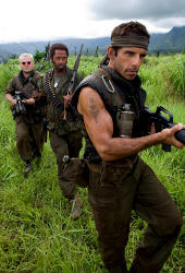 Jack Black, Robert Downey Jr e Ben Stiller in Tropic Thunder