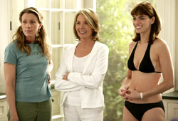 Frances McDormand, Diane Keaton e Amanda Peet in Tutto può succedere