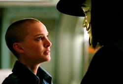 Natalie Portman e Hugo Weaving