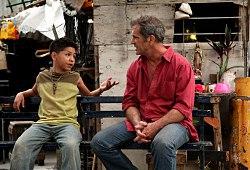 Kevin Hernandez e Mel Gibson