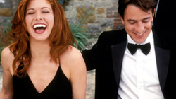Debra Messing e Dermot Mulroney in The Wedding Date