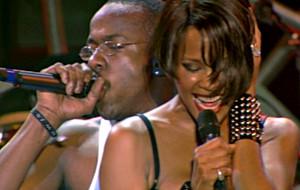Whitney Houston in concerto