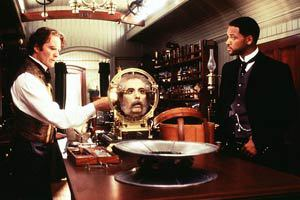 Kevin Kline e Will Smith in Wild Wild West