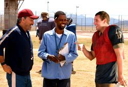 Burt Reynolds, Chris Rock e Adam Sandler in L'altra sporca ultima meta
